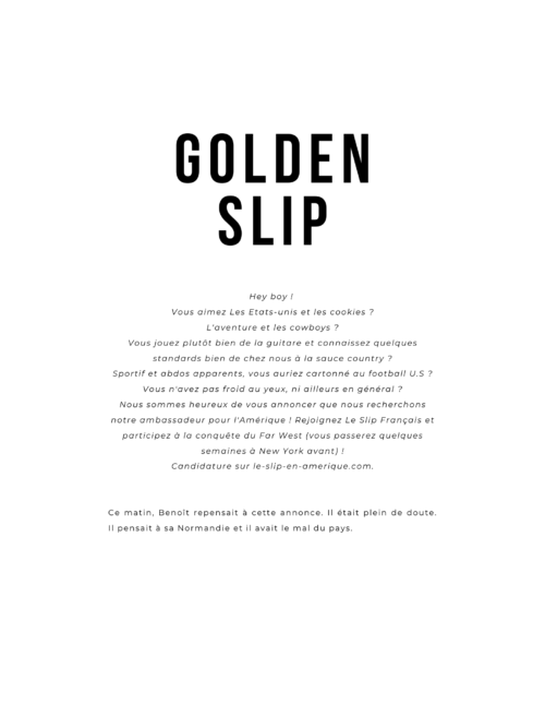 Golden Slip Fragments n°3 magaki boutique